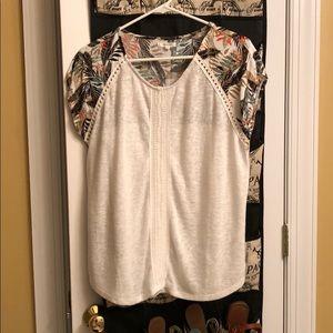 Maurice's blouse medium